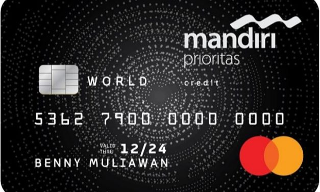 Review: Kartu Kredit Mandiri Prioritas MasterCard World (Updated)